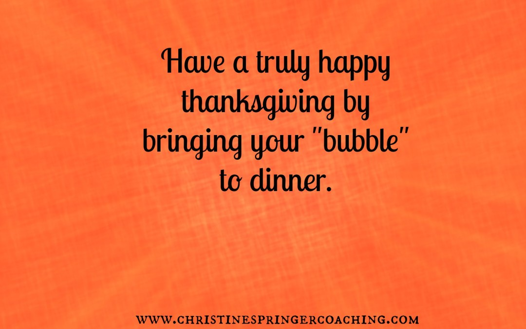 How To Manage Stress At Thanksgiving Dinner